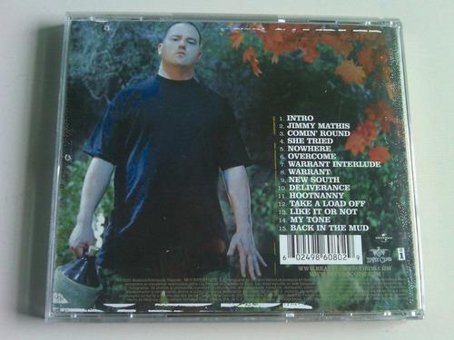 bubba sparxxx deliverance cd usado nacional