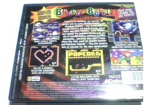 bubble bobble - para ps1 chipeada disco broncead