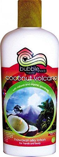 bubble shack hawaii coco volcano silky loción manos cuerpo