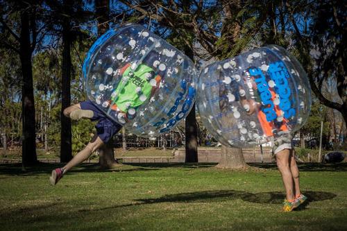 bubble soccer alquiler burbujas inflables futbol eventos