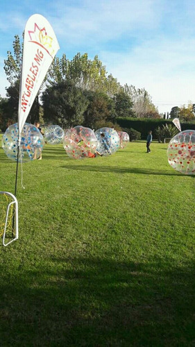 bubble soccer zorball burbujas futbol inflables