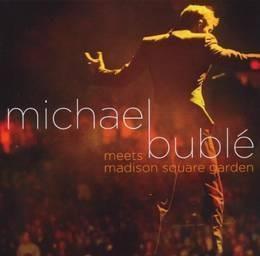 buble michael meets madison square garden cd + dvd nuevo