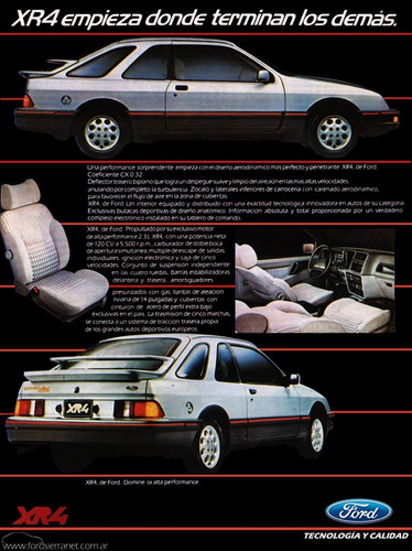 buby - sierra xr-4 (impecable!!)