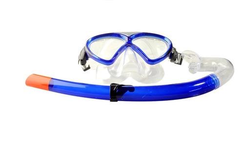 buceo mascara set lentes snorkel tubo nadar