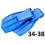Set De Chapaletas 34-38 Snorkel Careta + Morral De Obsequio