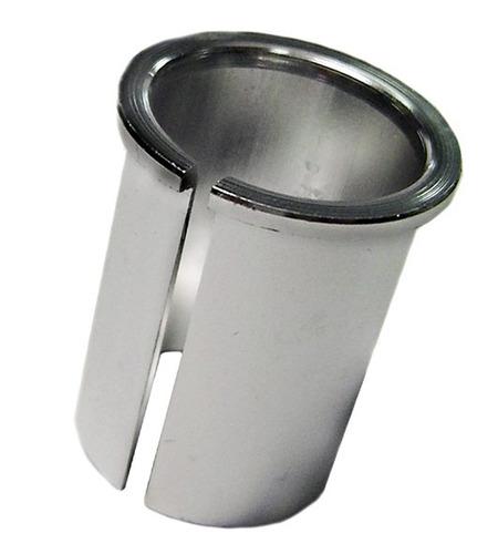 bucha adaptadora alum. 25,4mm p/ suporte guidão ahead