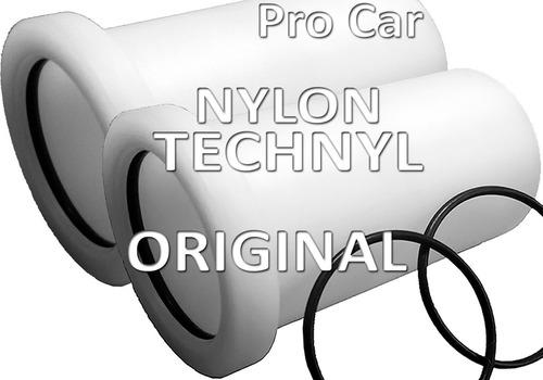 bucha eixo traseiro 206 207 nylon technyl peugeot rolamento