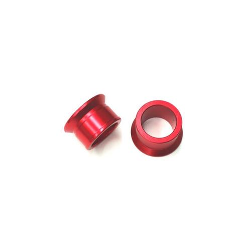 bucha espaçadora de roda traseiro zeta - cr / crf - vermelho