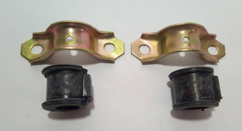bucha estabilizadora traseira troller ate 2014 kit 2 peças