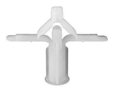 bucha ivplast para gesso  gdp1  pacote com 50 peças