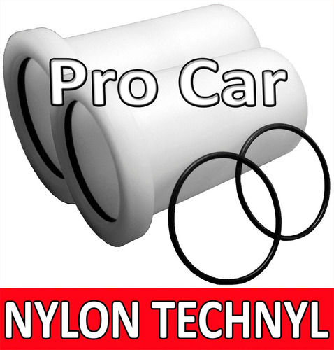 bucha nylon technyl peugeot 206 207 rolamento eixo traseiro