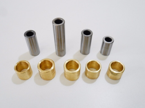 bucha pro link nx 150 / xr 200 bucha latão ( 9 peças )