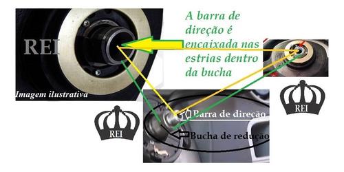 bucha redução volante gol g2 g3 g4 g5 fox jetta 25 mm/17mm