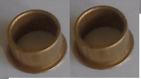 buchas  motor  rossi original par de bronze *
