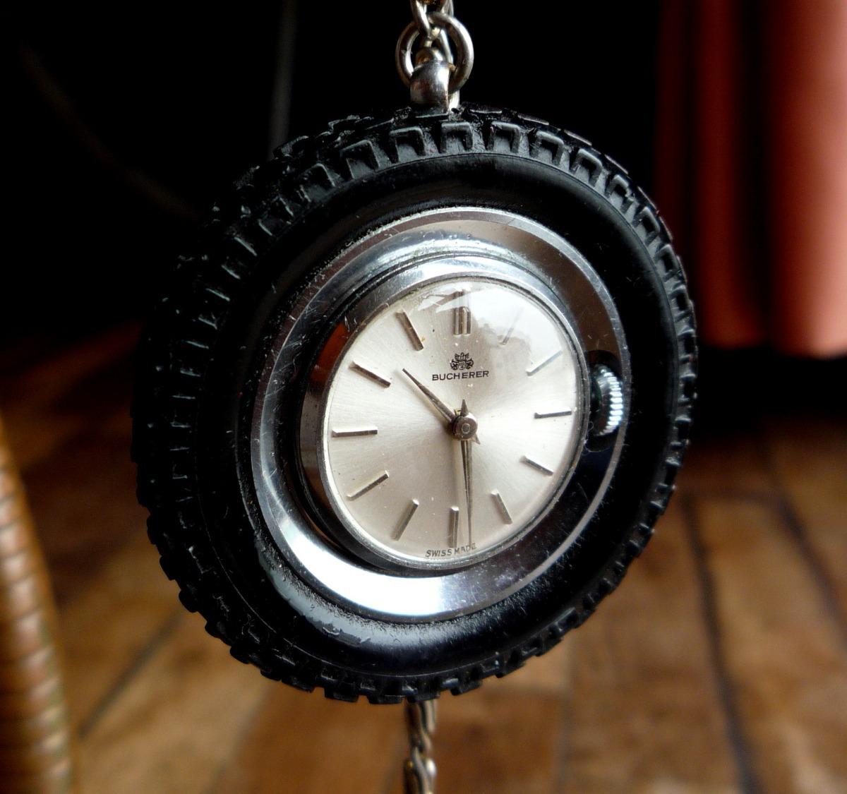 8d7b8fe2a4bb6 Bucherer Reloj Llanta Neumático Suizo Coleccion Rar 14818swt - S ...