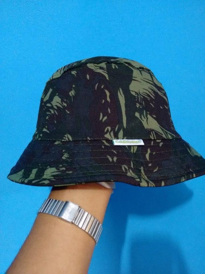 bucket hat camuflado verde pronta entrega ! Carregando zoom. 0df834b48eb