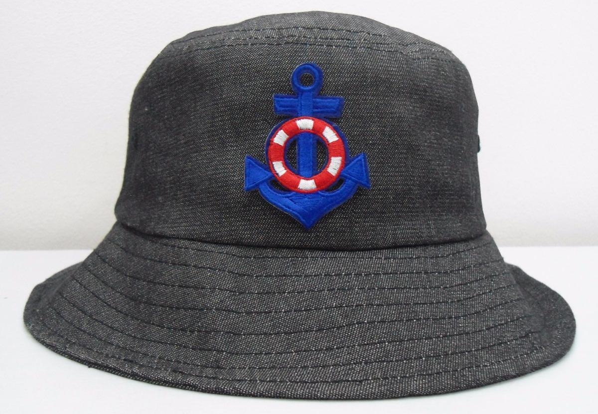 bucket hat chapeu cata ovo ancora estampado pescador balada. Carregando  zoom. 654f68fb641