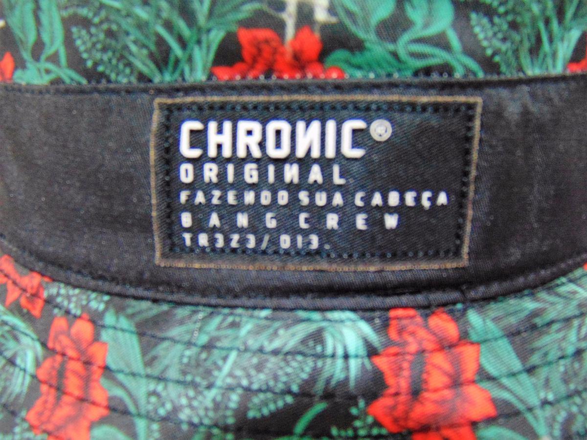 bucket hat chronic bang crew treze floral original. Carregando zoom. 247338180f6