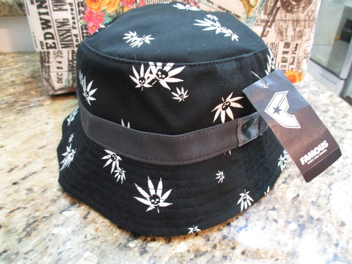 12191864253 bucket hat famous stars   straps chapéu kush original. Carregando zoom.