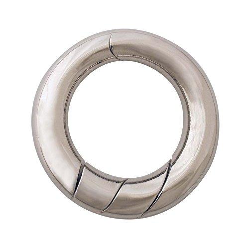 bucle hanayama de metal fundido rompecabezas rompecabezas (