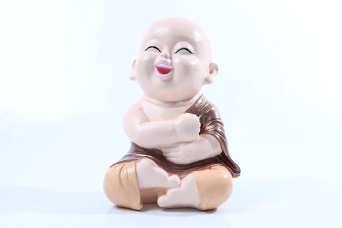 buda bebê estatueta/enfeite/decoração/aparador/estante/sala