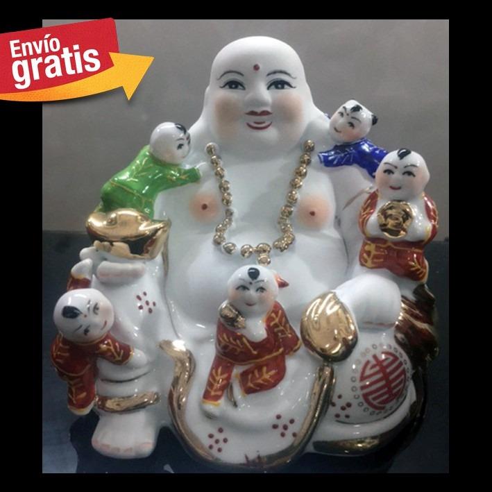 Buda de la fertilidad la felicidad y amor familia feng for Feng shui amor y matrimonio