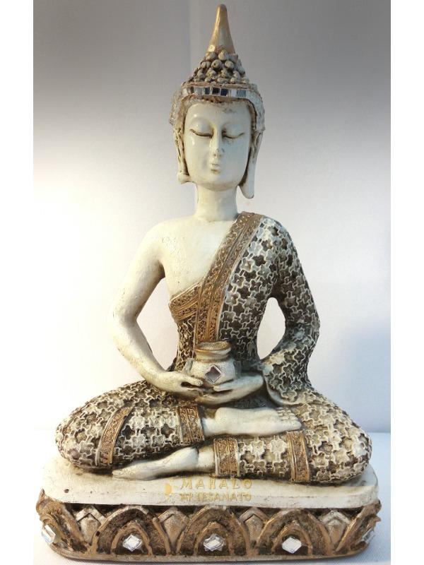 Buda espelhado decora o hindu estatua chakras r 35 80 for Budas grandes para jardin