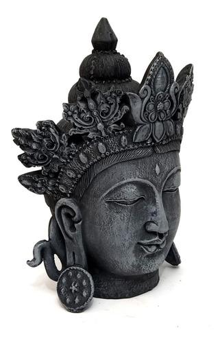 buda hindu estatua em resina 23 cm
