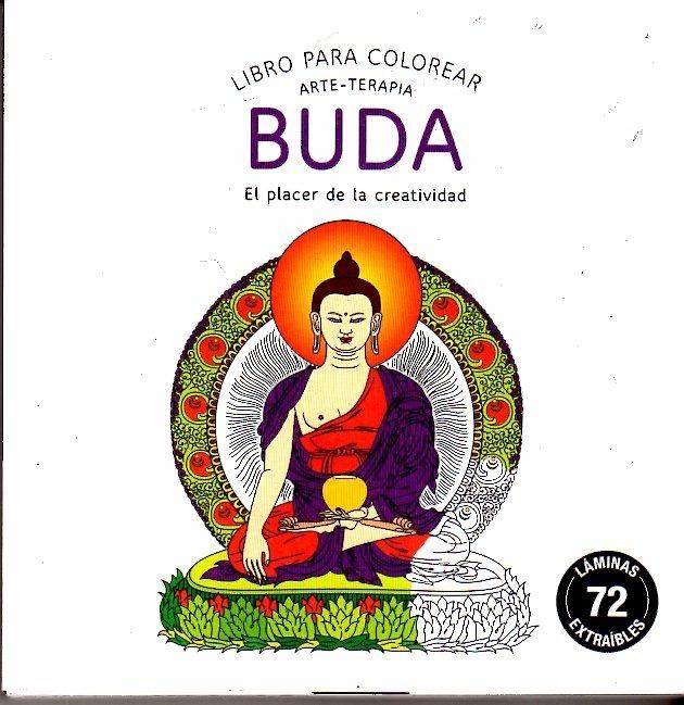 Buda / Libro Para Colorear Arte - Terapia - $ 390,00 en Mercado Libre