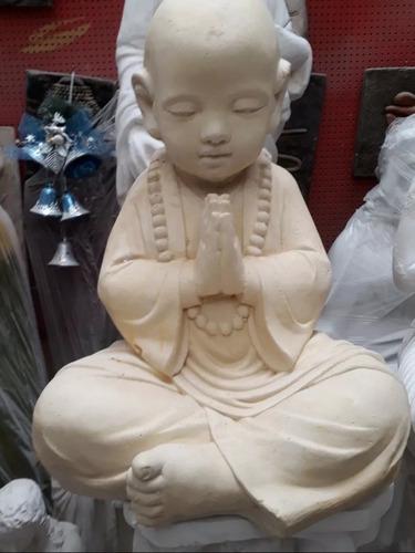 buda tibetano con pedestal 1.2mt de yeso