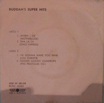 buddah's super hits - compacto - 1969