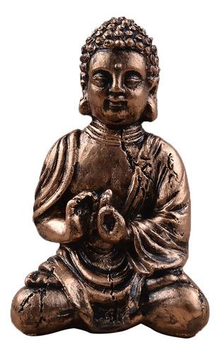 buddha estatua figurita de buda tathagata india de resina