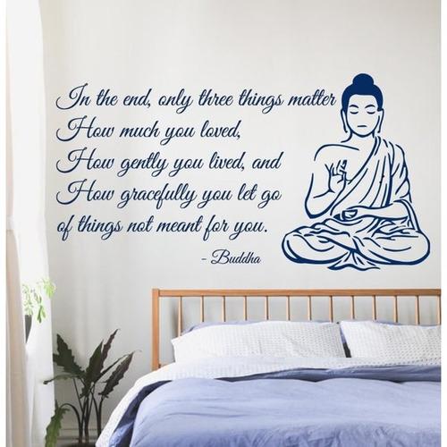 buddha quote calcomanias vinyl artee para decoración