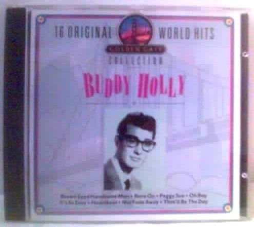 **buddy holy **16 originals world hits ** cd importado