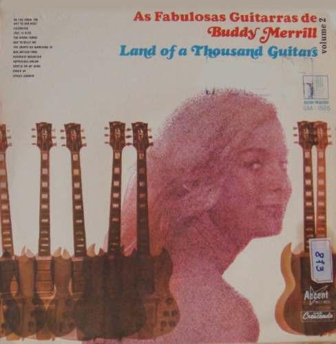 buddy merrill lp land of a thousand guitars 1969 mono