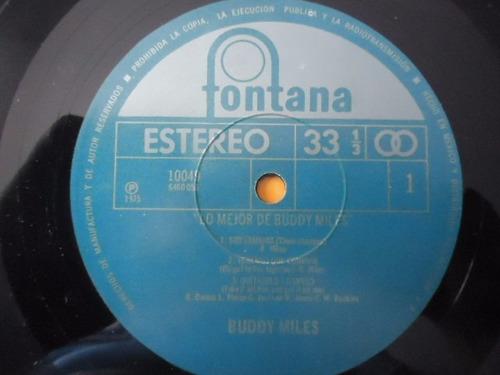 buddy miles / lo mejor de buddy miles vinyl lp acetato