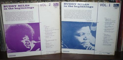 buddy miles lp  in the beginnings vol 1 y vol 2