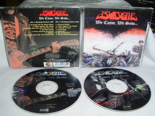 budgie - we came, we saw...(2 cds)
