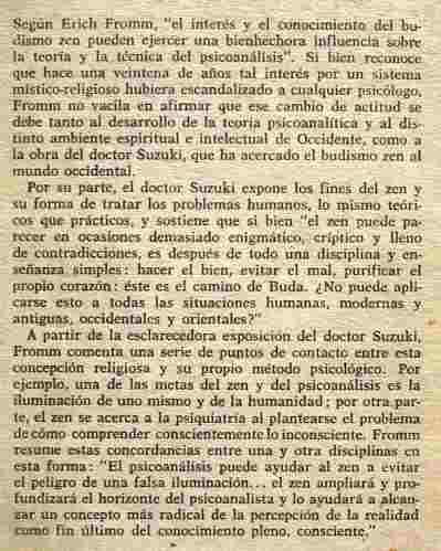 budismo zen y psicoanálisis, suzuki / fromm, ed. fce