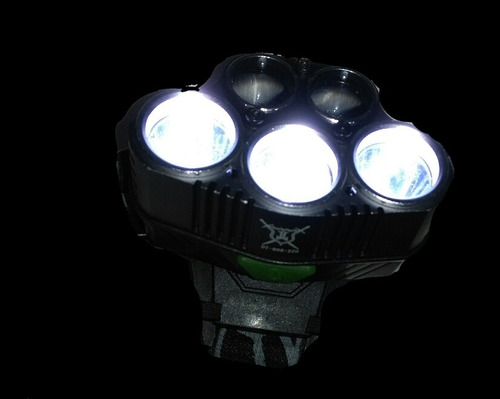 buen fin lampara tactica 12000lm con 2 focos led,