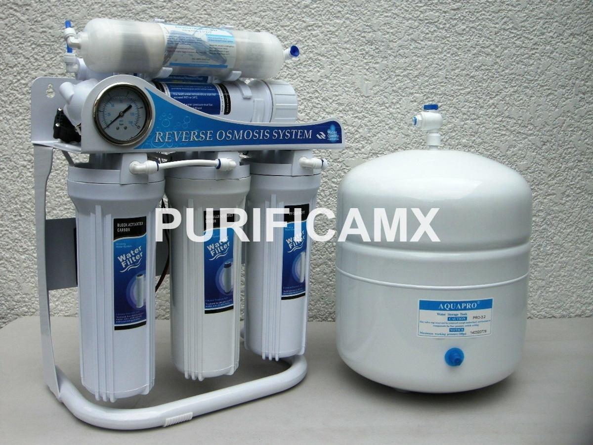 Buen fin osmosis inversa 100 gpd con bomba agua alcalina - Bomba de agua domestica ...