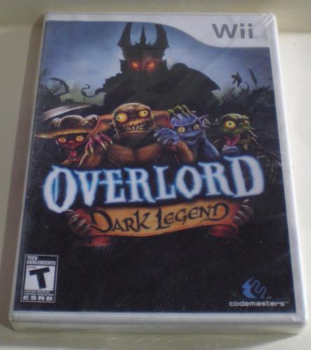 buen fin overlord dark legend para wii en gamekiosko