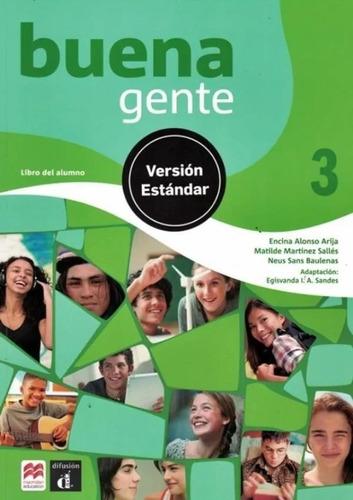buena gente 3 - libro del alumno estandar