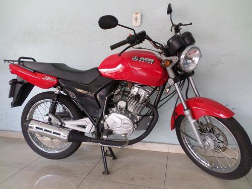bueno motos jbr 125 vermelha 2017