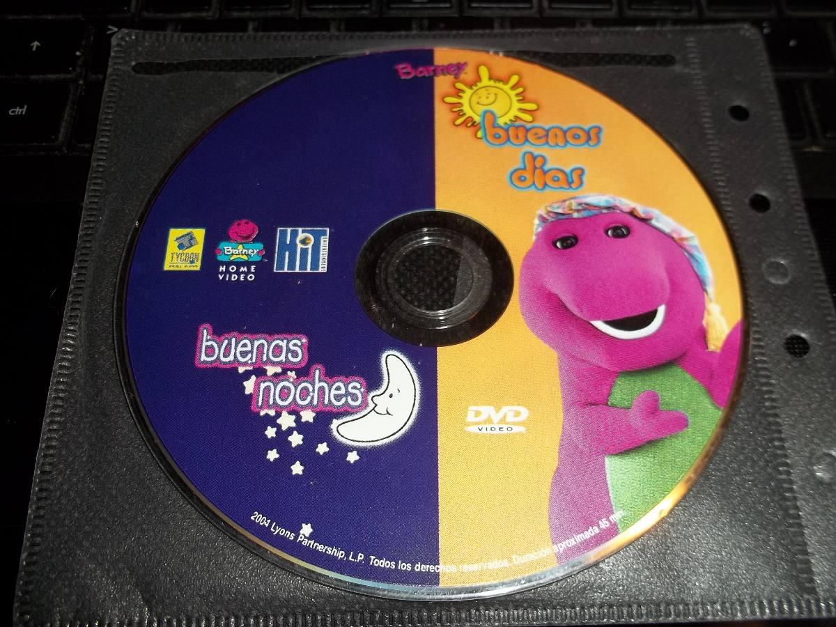 Buenos d as buenas noches dvd original barney en - Buenos dias buenas noches ...