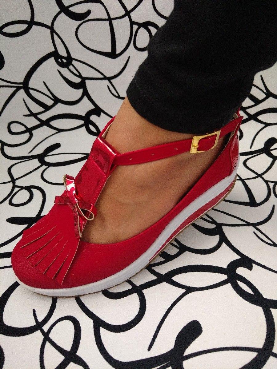 diseño profesional niño tienda oficial Buenos Zapatos Rojos Casuales Mafalda De Moda Envío Gratis