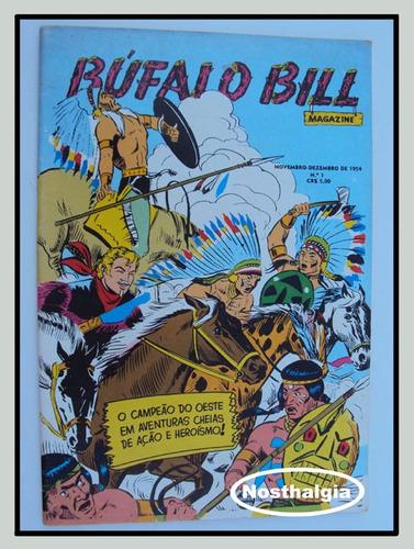 bufalo bill - n.1 - reedição - anos 80 - rge - f(213)