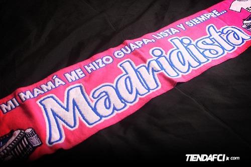 bufanda chicas guapa y madridista real madrid original