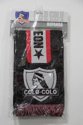 bufanda colo colo original / santiago boxer