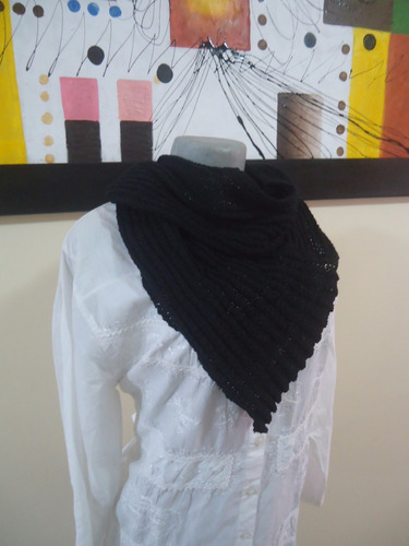 bufanda cuello moderna